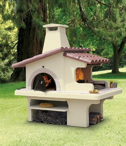 Forno barbecue esterno perfect barbecue in muratura da for Arredo esterno napoli